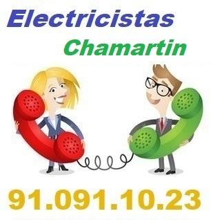 Telefono de la empresa electricistas Chamartin