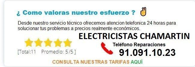 electricistas chamartin precios